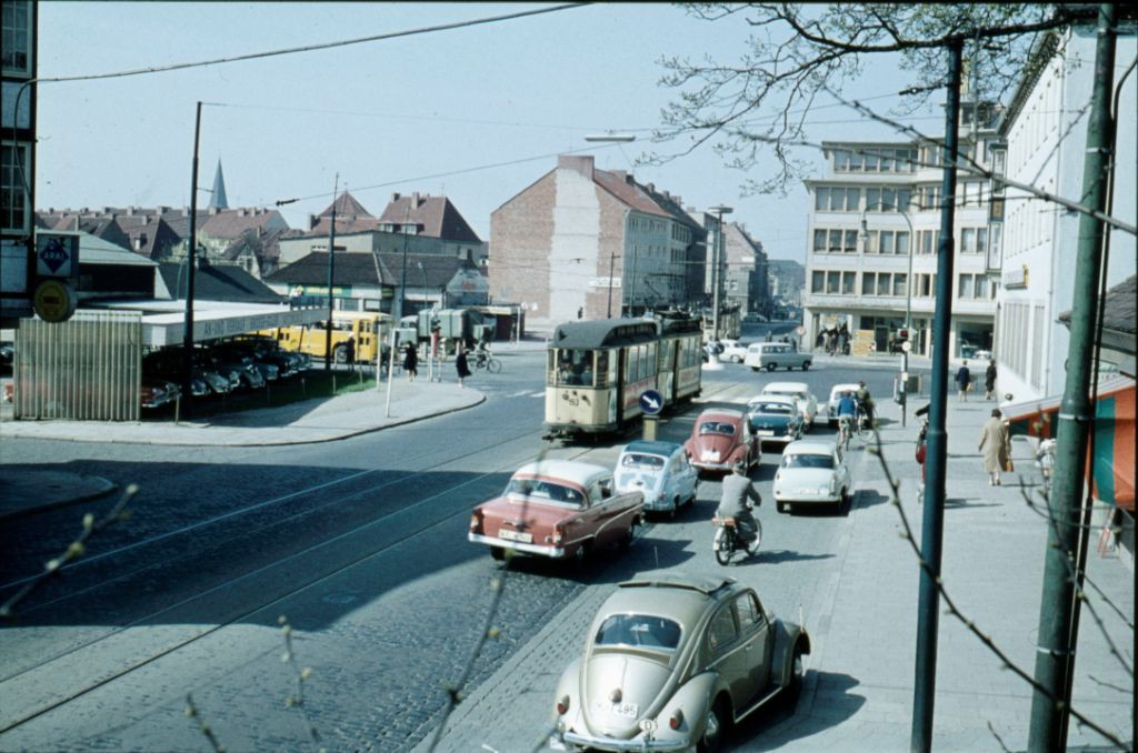 Rosenplatz 1960