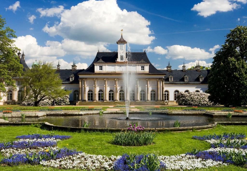 Neues Palais mit Lustgarten © Schlösser, Burgen, Gärten – Sylvio Dittrich