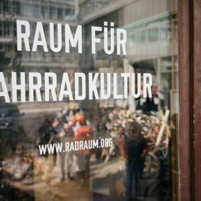 """Eröffnungsfeier: """"Raum für Fahrradkultur"""""""