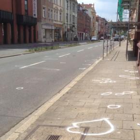 GRÜNE reagieren auf Unfall in Martinistraße