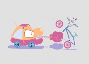 Verkehr geht nur zusammen Grafik Mikhail 1