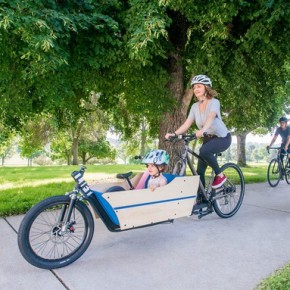 The LIFT Cargo Bike