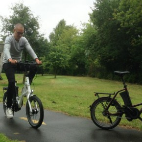 E-Biken bei Derby Cycle