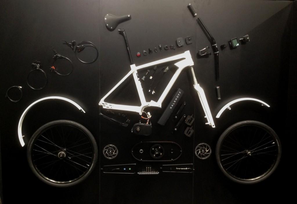 Und so sieht ein E-Bike dann aus, wenn es in Einzelteile zerlegt wird...