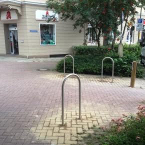 Fahrradbügel am Arndtplatz