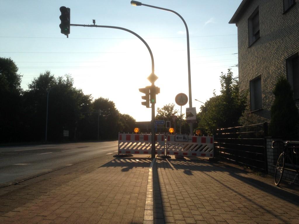 Baustelle Mindener Straße 2
