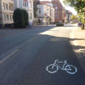 Sharrows locken Radfahrer auf die Straße - oder doch nicht?