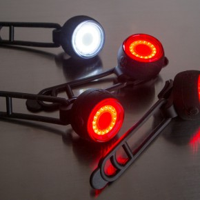 Synchronized Wireless Bicycle Lights