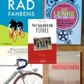 5 Bücher für Fahrradfreunde