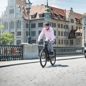 E-Bike-Fahren regt zum Umdenken an