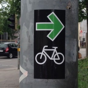 München will Grünpfeil für Radfahrer testen
