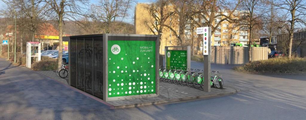 Mobilitätsstation Osnabrück 1