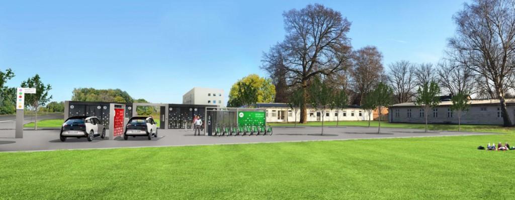 Mobilitätsstation Osnabrück 4