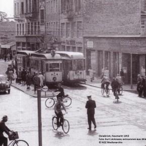Plätze in Deutschland - 1950 und heute