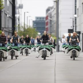 Donk-EE: Europaweit größtes Sharing-Angebot für E-Lastenräder in Köln