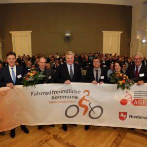 Osnabrück als fahrradfreundliche Kommune ausgezeichnet