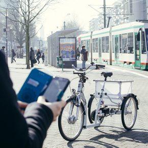 Rollen bald selbstfahrende E-Bikes durch die Magdeburger Innenstadt?
