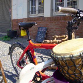 Floh on Bike