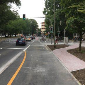 Erster guter Radweg in Osnabrück ist fertig