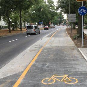 Die Sicherheit von Radfahrern darf nichts kosten