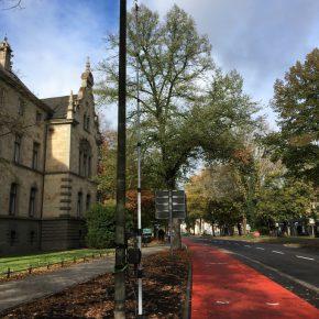 Protected Bike Lane wird videoüberwacht