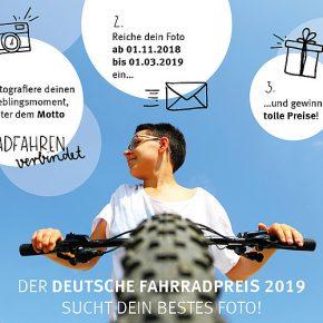 Fotowettbewerb: Radfahren verbindet!