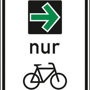 NRW ermöglicht freies Abbiegen für Radfahrer