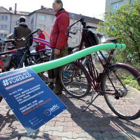 Der Radverkehr braucht radikal mehr Platz im Straßenraum!