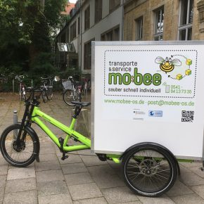 mobee erweitert umweltfreundliches Lieferdienstangebot