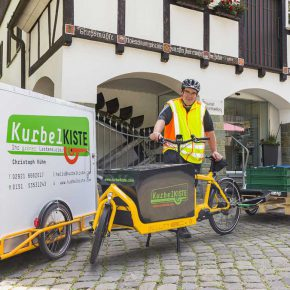 Scheuer fördert Drohnen statt Lastenräder