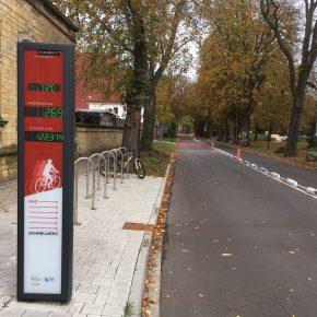 Fahrradzähler online verfolgen