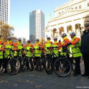 Fahrradstaffel für Frankfurt