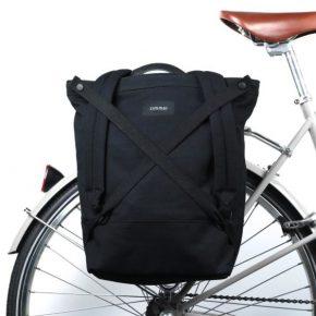 Ein Rucksack als Fahrradtasche