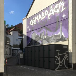 Sicheres Fahrradparken für städtische Dienstradflotte