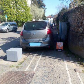 Über Falschparker und Zettel am Fahrrad