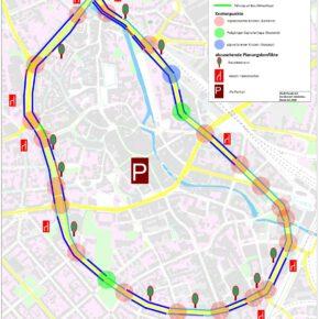 Was bleibt übrig für den Radverkehr?