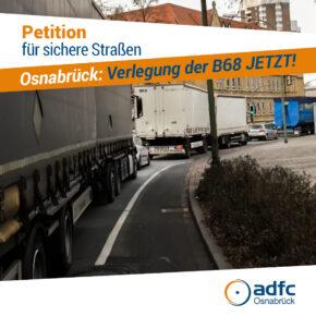 ADFC bekommt weitere Unterstützung für sicheren Stadtverkehr