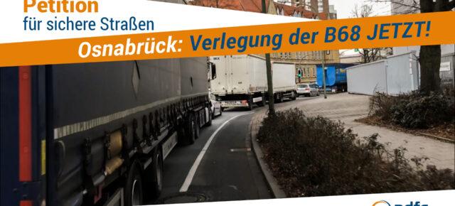 Petition für LKW-Durchfahrtverbot