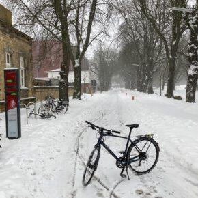 Der Winter legt den (Rad- ) Verkehr lahm