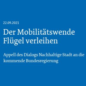 21 Oberbürgermeister*innen wollen der Mobilitätswende Flügel verleihen