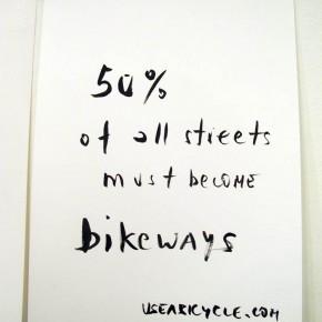 Das Fahrrad Manifest von Rainer Ganahl
