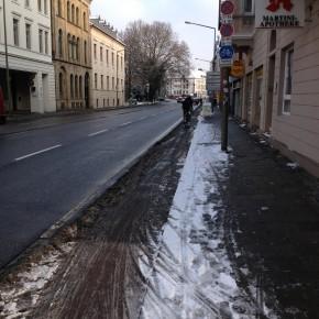 Osnabrücker Radwege im Winter (2)