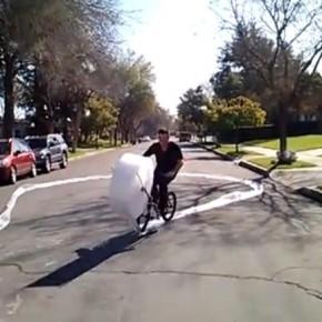 Bubble Wrap Bike