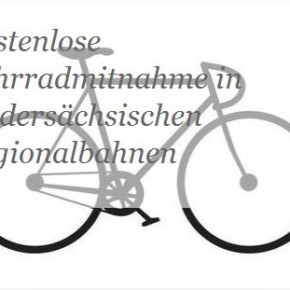 Keine kostenlose Fahrradmitnahme in niedersächsischen Regionalbahnen