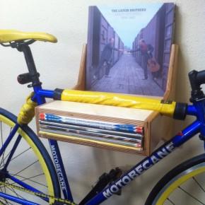 """The """"Audiophile"""" Bike Hanger"""