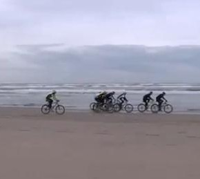 Mountainbike Beachrace