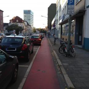 Schlecht - schlechter - Radweg!