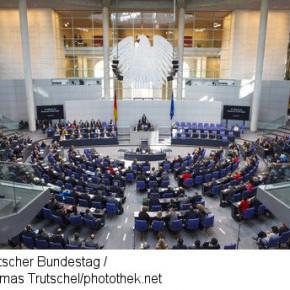 """Thema """"Falschparken"""" im Bundestag"""