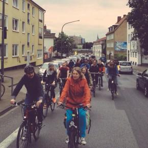 Critical Mass Osnabrück Mai 2015