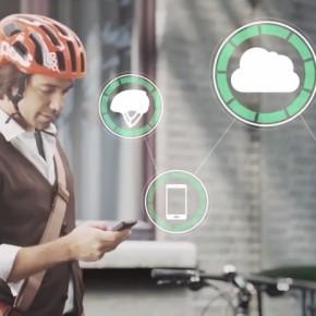 Volvo entwickelt smarten Fahrradhelm